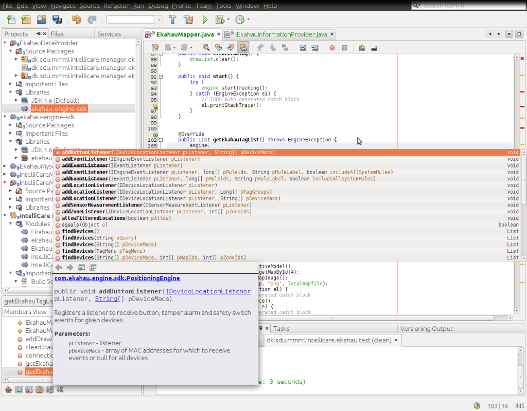 Javadoc for an included JAR file in Netbeans