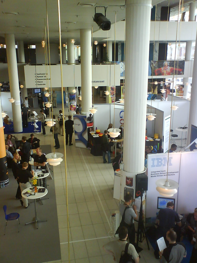 Exhibition area JAOO2007